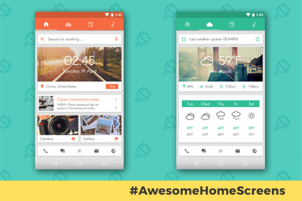 awesome-android-home-screens-sliding-stacker