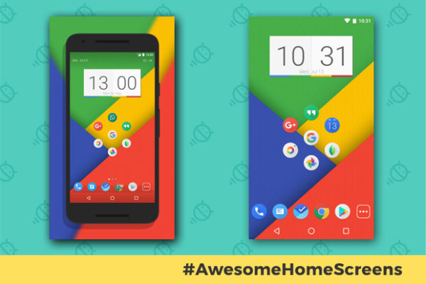 awesome-android-home-screens-googley-minimalist